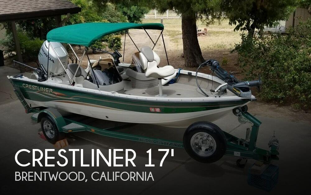 Used Crest Boats For Sale by owner | 2004 Crestliner Fish Hawk 1750 SC