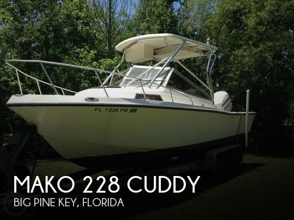 Used MAKO 23 Boats For Sale by owner | 1988 Mako 23