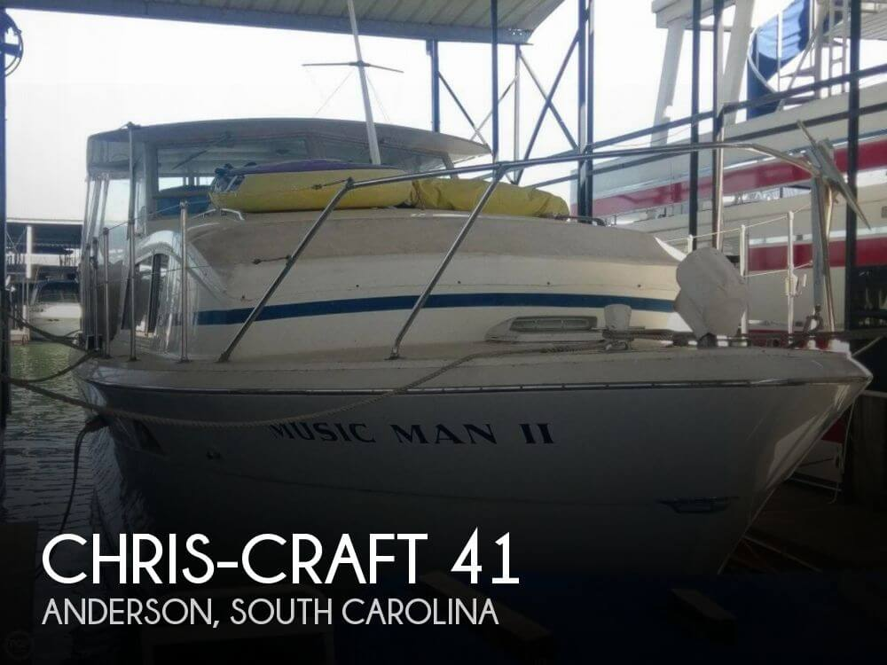 Used Boats For Sale in Greenville, South Carolina by owner | 1972 Chris-Craft 41
