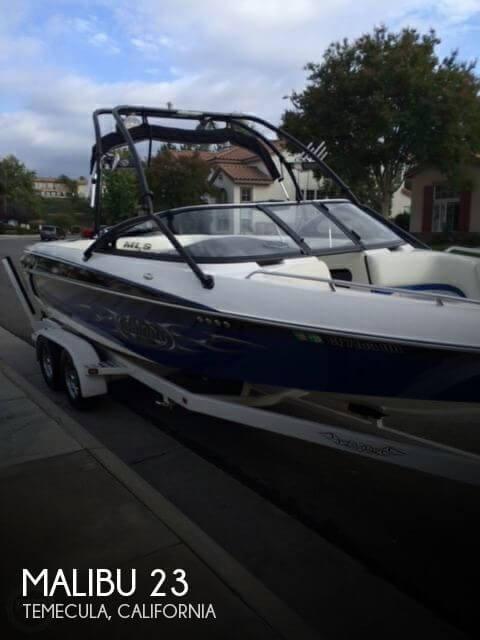 Used MALIBU Boats For Sale in California by owner | 2004 Malibu 23