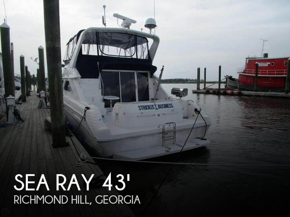 Used Boats For Sale in Savannah, Georgia by owner | 1996 Sea Ray 43