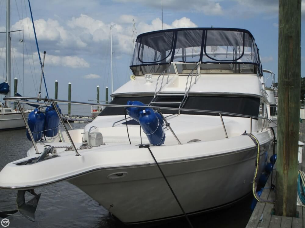 1996 Sea Ray boat for sale, model of the boat is 440 Express Bridge & Image # 36 of 40