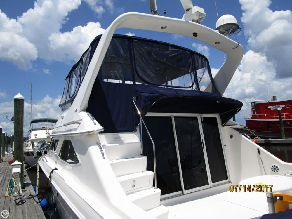 1996 Sea Ray boat for sale, model of the boat is 440 Express Bridge & Image # 40 of 40