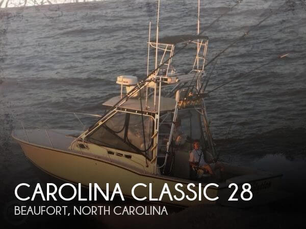 Used Fishing boats For Sale in North Carolina by owner | 2002 Carolina Classic 28