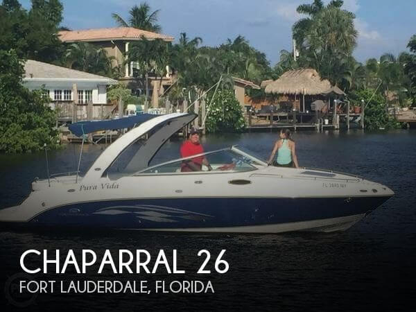 Used Chaparral 26 Boats For Sale by owner | 2005 Chaparral 26
