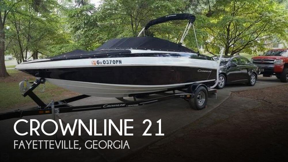 Used Boats For Sale in Macon, Georgia by owner | 2015 Crownline 21