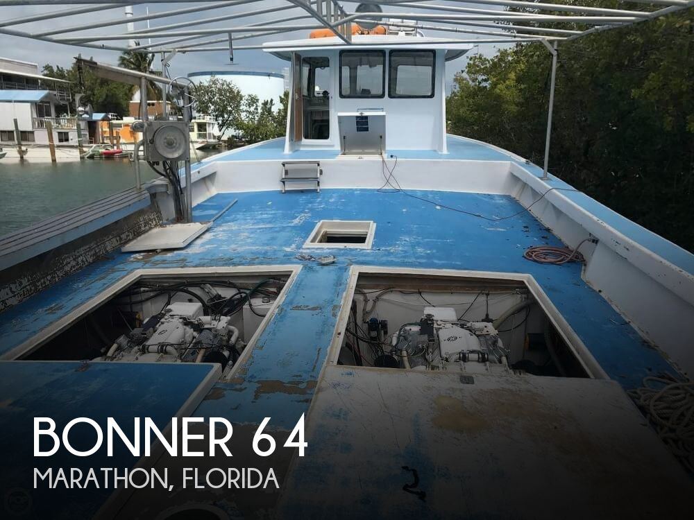 1999 Bonner boat for sale, model of the boat is 64 & Image # 1 of 40