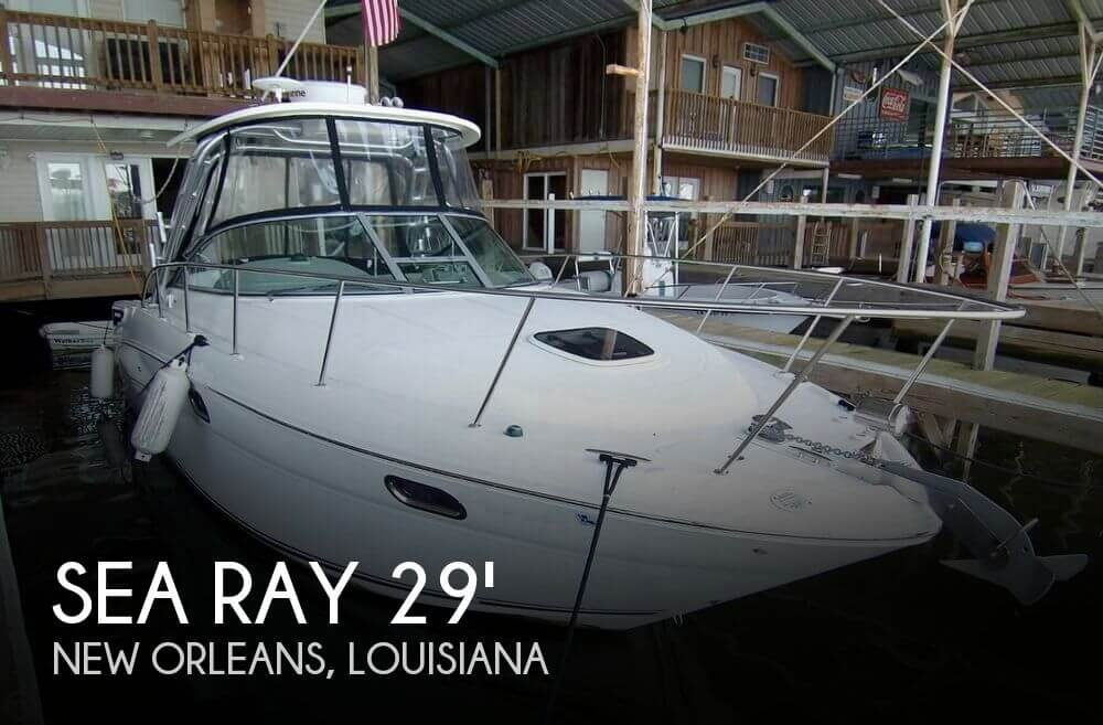 Used Sea Ray 29 Boats For Sale by owner | 2009 Sea Ray Amberjack 290 Sport Cruiser