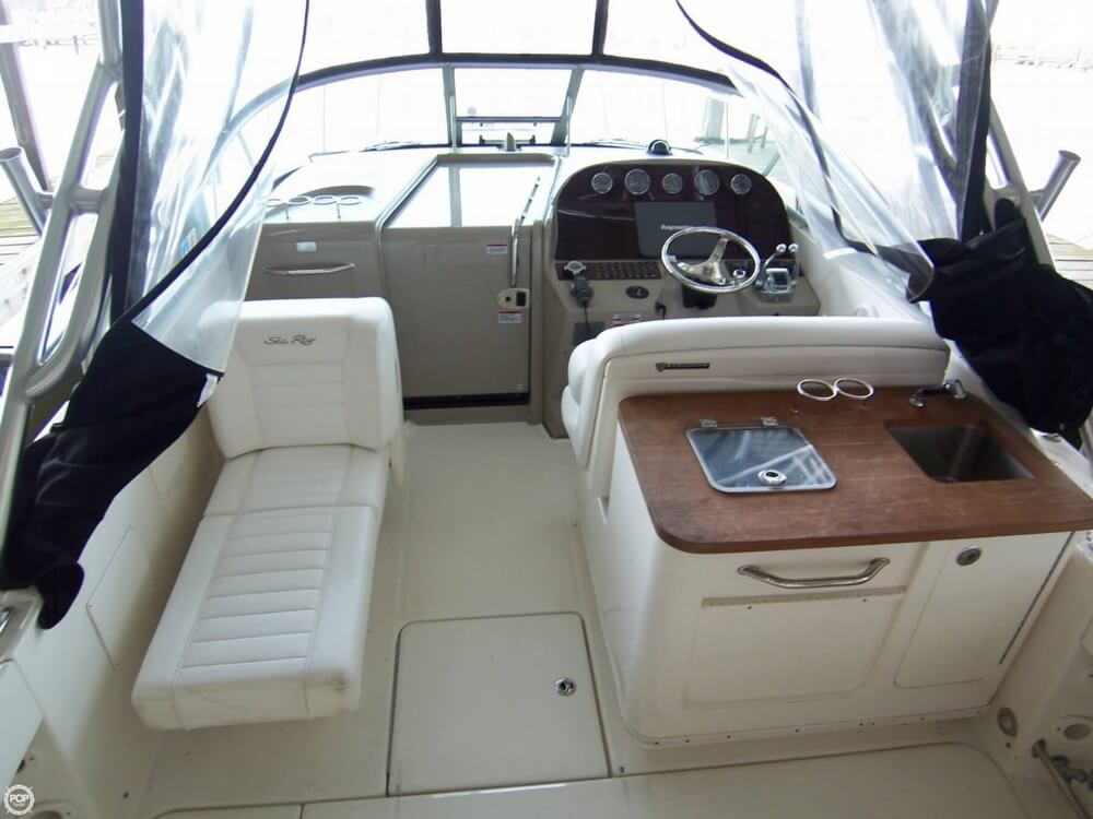 2009 Sea Ray boat for sale, model of the boat is Amberjack 290 Sportfish 29 & Image # 5 of 40