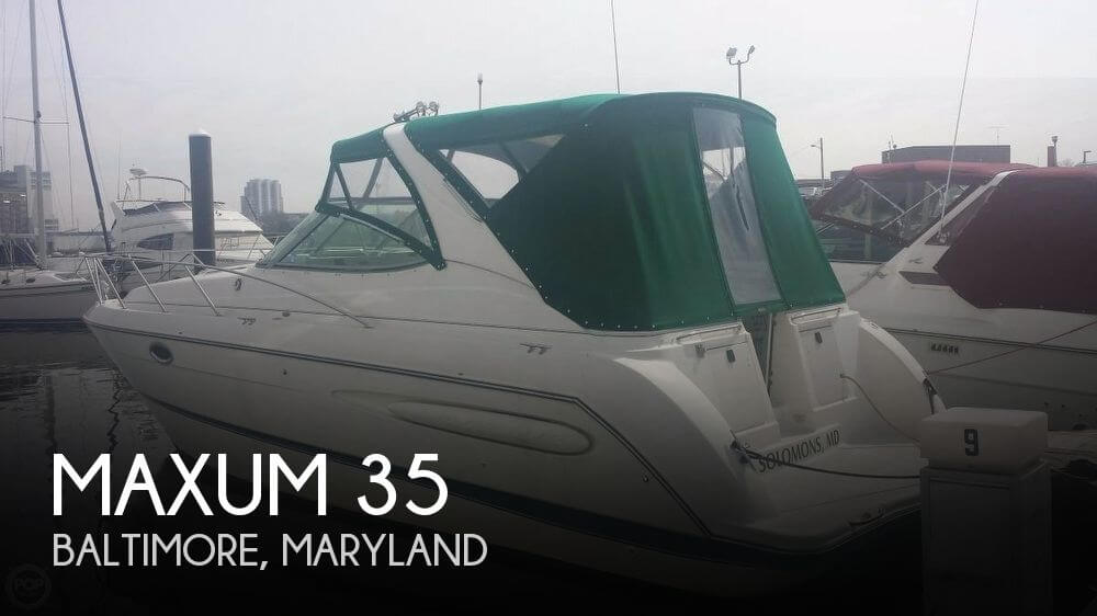 Used Maxum Boats For Sale by owner | 2003 Maxum 35