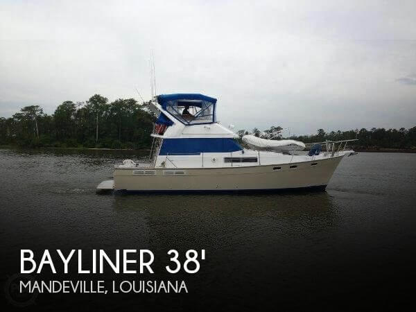 Used Bayliner Motoryachts For Sale by owner   1987 Bayliner 38