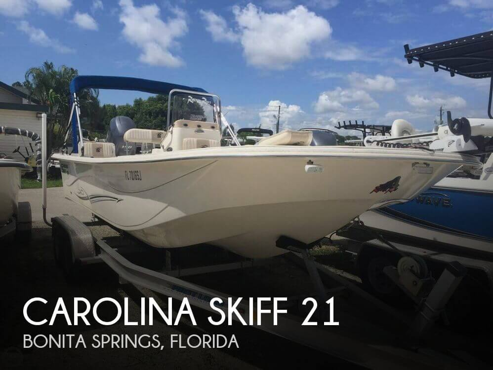 Used Boats For Sale by owner | 2015 Carolina Skiff 21