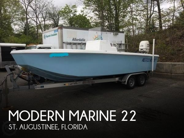 2016 Modern Marine boat for sale, model of the boat is 22 & Image # 1 of 39