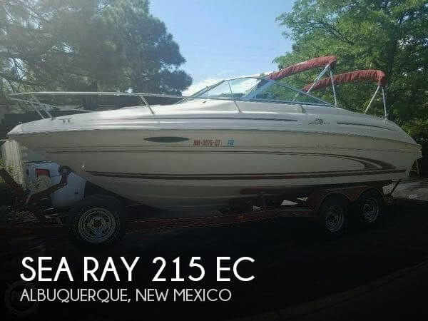 Used Boats For Sale in Albuquerque, New Mexico by owner | 2000 Sea Ray 21