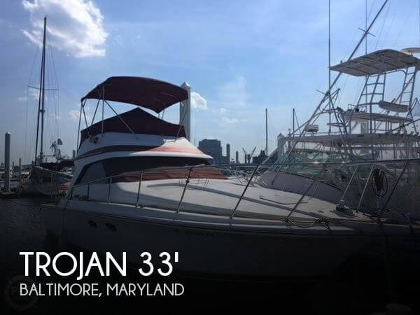 Used Fishing boats For Sale in Maryland by owner | 1986 Trojan 33