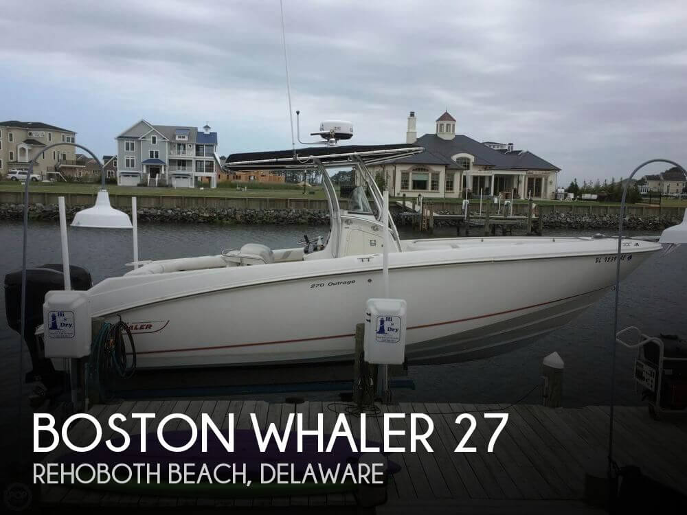 Used Boston Whaler Boats For Sale by owner | 2006 Boston Whaler 27