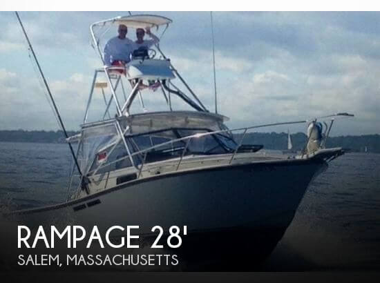 Used Rampage Boats For Sale by owner | 1989 Rampage 28