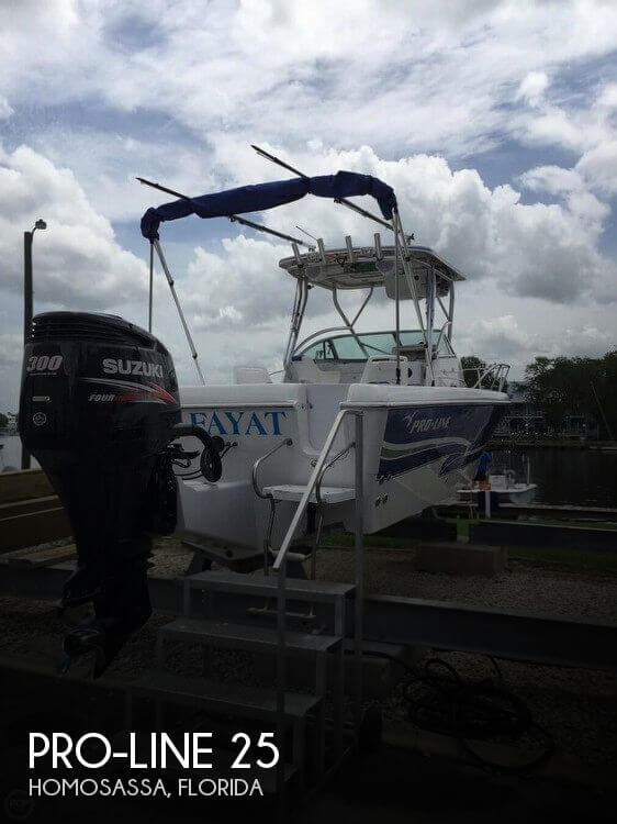 Used Pro-Line Boats For Sale in Florida by owner | 2001 Pro-Line 25