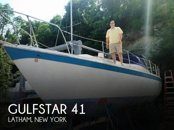 Used Boats For Sale in Albany, New York by owner | 1973 Gulfstar 41