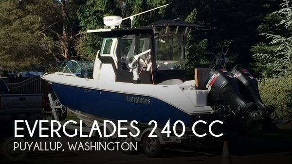 Used Power boats For Sale in Washington by owner | 2007 Everglades 25
