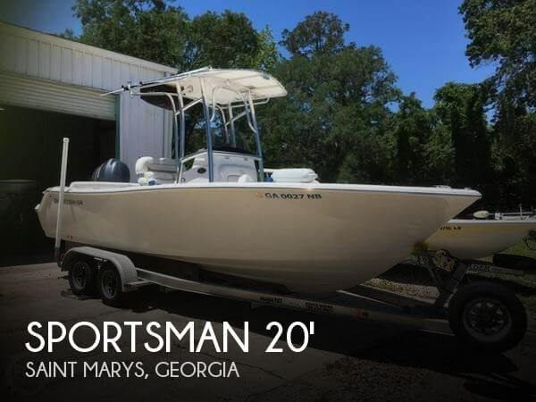 Used Ski Boats For Sale in Georgia by owner | 2014 Sportsman 20