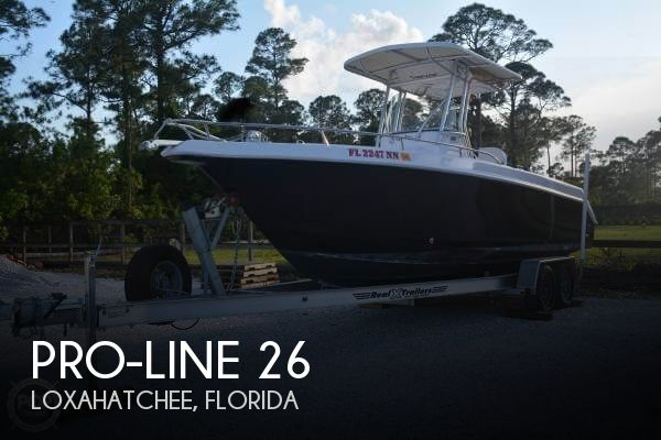 Used Pro-Line Boats For Sale in Florida by owner | 2006 Pro-Line 26
