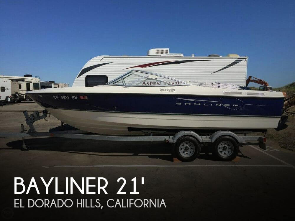 Used Bayliner Boats For Sale in California by owner | 2007 Bayliner 21