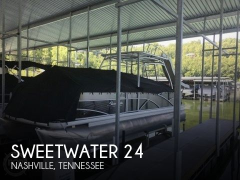 Used Pontoon Boats For Sale in Tennessee by owner | 2015 Sweetwater 24