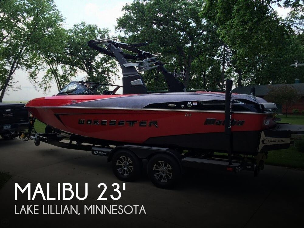 Used Boats For Sale in Minnesota by owner | 2016 Malibu 23