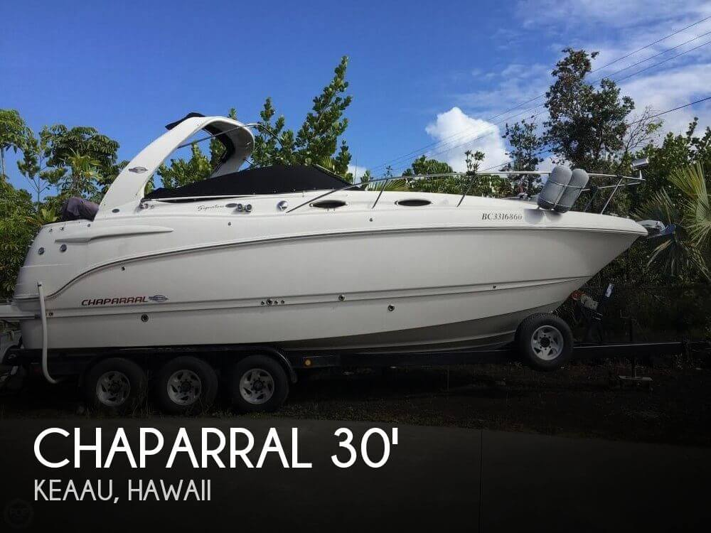 Used Boats For Sale in Hawaii by owner | 2007 Chaparral 30