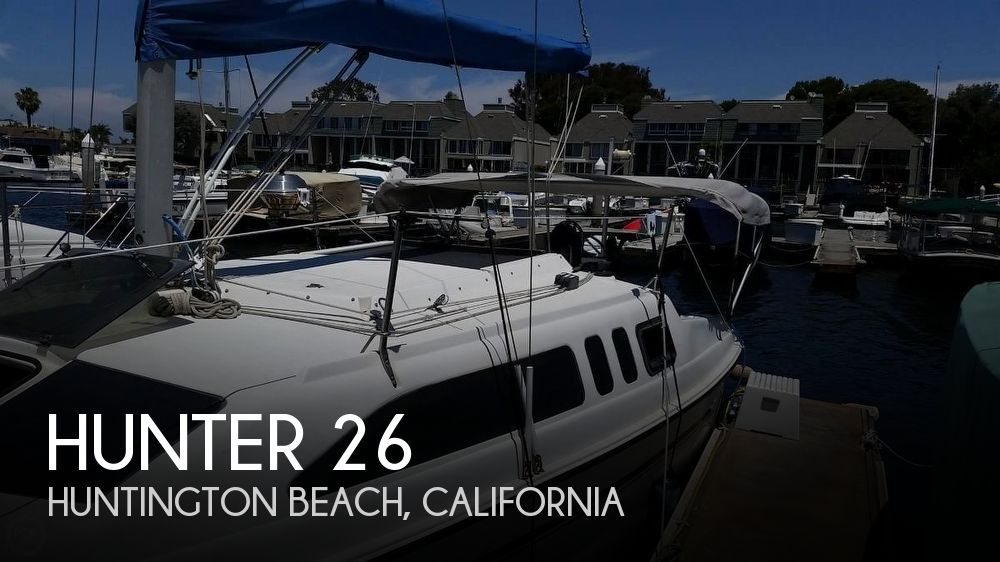 Used Hunter Sailboats For Sale in California by owner | 1994 Hunter 26