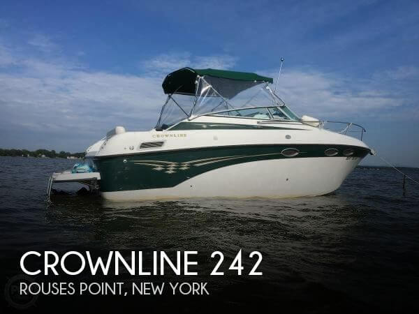 Used Boats For Sale in Burlington, Vermont by owner | 2004 Crownline 24