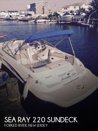 Used Deck Boats For Sale by owner   2002 Sea Ray 22