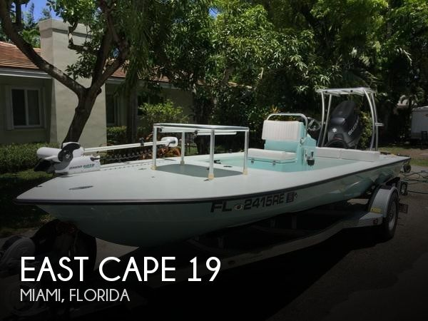Used East Cape Boats For Sale by owner | 2016 East Cape 19
