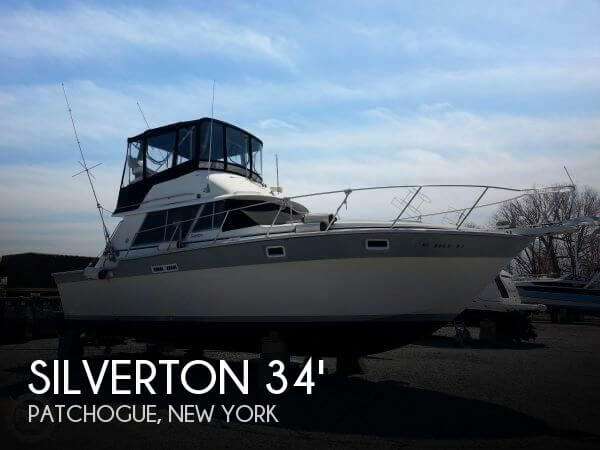 Used Silverton Boats For Sale in New York by owner   1985 Silverton 34