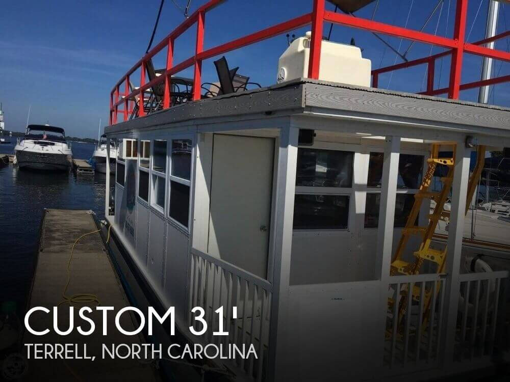 Used Custom Houseboats For Sale by owner | 2004 Custom 31