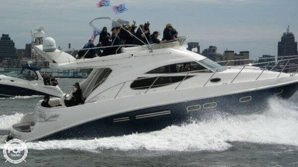 2002 Sealine boat for sale, model of the boat is F42/5 Flybridge & Image # 5 of 40