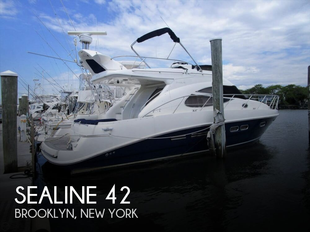2002 Sealine boat for sale, model of the boat is F42/5 Flybridge & Image # 1 of 40