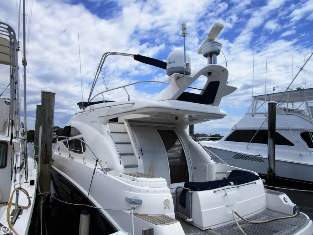 2002 Sealine boat for sale, model of the boat is F42/5 Flybridge & Image # 8 of 40