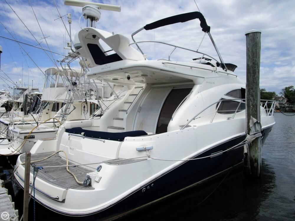 2002 Sealine boat for sale, model of the boat is F42/5 Flybridge & Image # 9 of 40