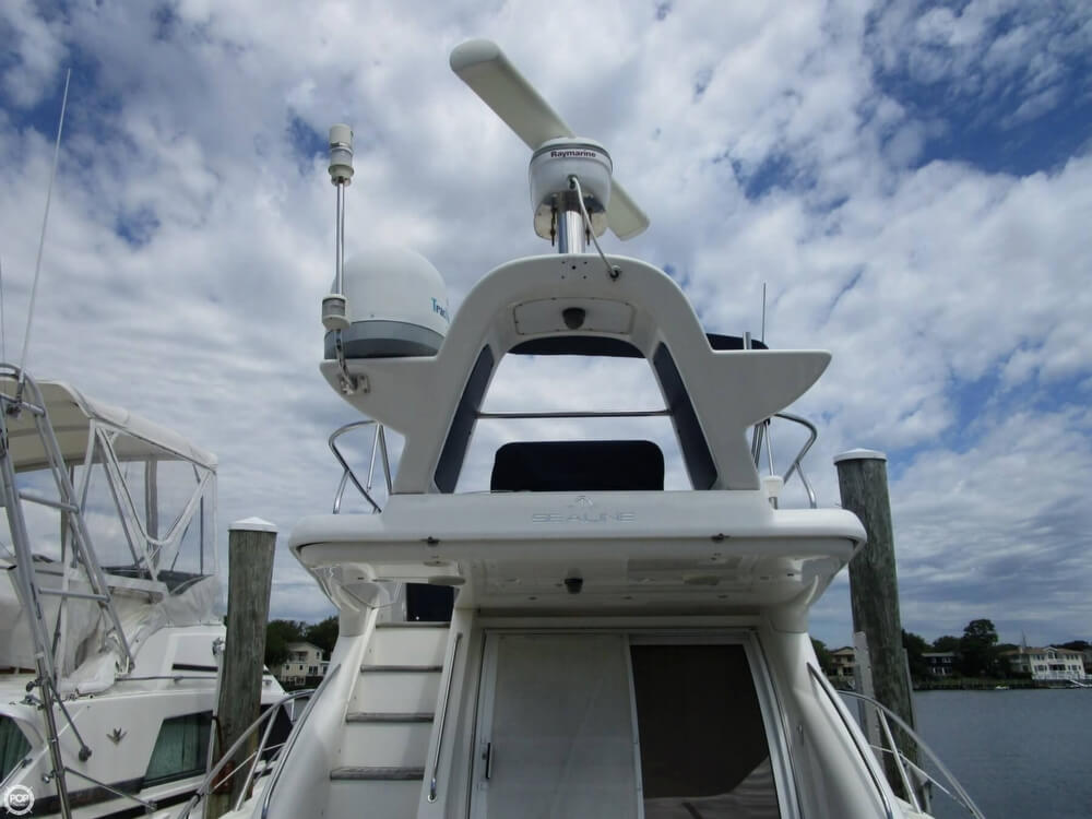 2002 Sealine boat for sale, model of the boat is F42/5 Flybridge & Image # 10 of 40