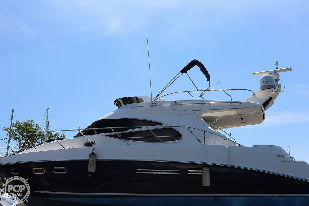 2002 Sealine boat for sale, model of the boat is F42/5 Flybridge & Image # 22 of 40