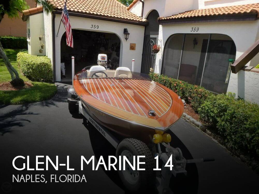 Used Boats For Sale by owner | 2015 Glen-L Marine 14