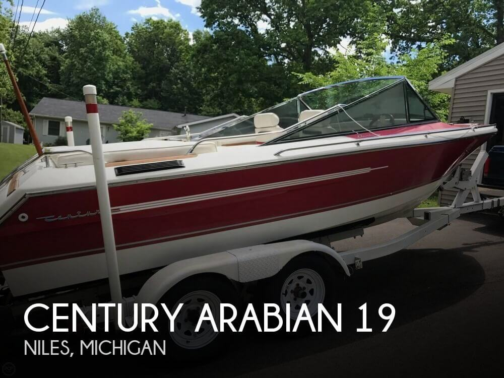Used Boats For Sale in Fort Wayne, Indiana by owner | 1992 Century Arabian 19