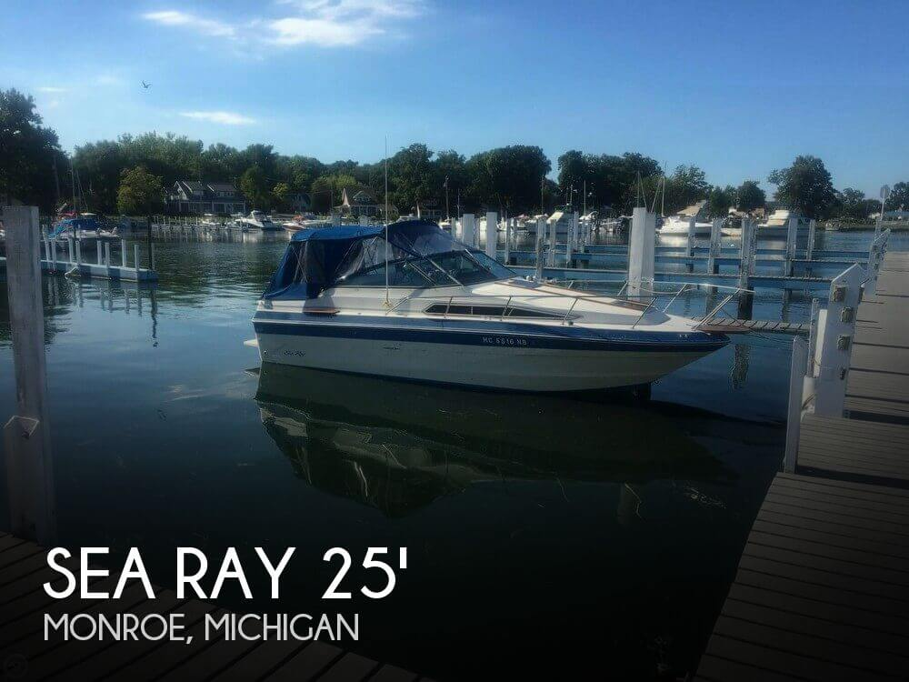 Used Sea Ray 25 Boats For Sale by owner | 1987 Sea Ray 25