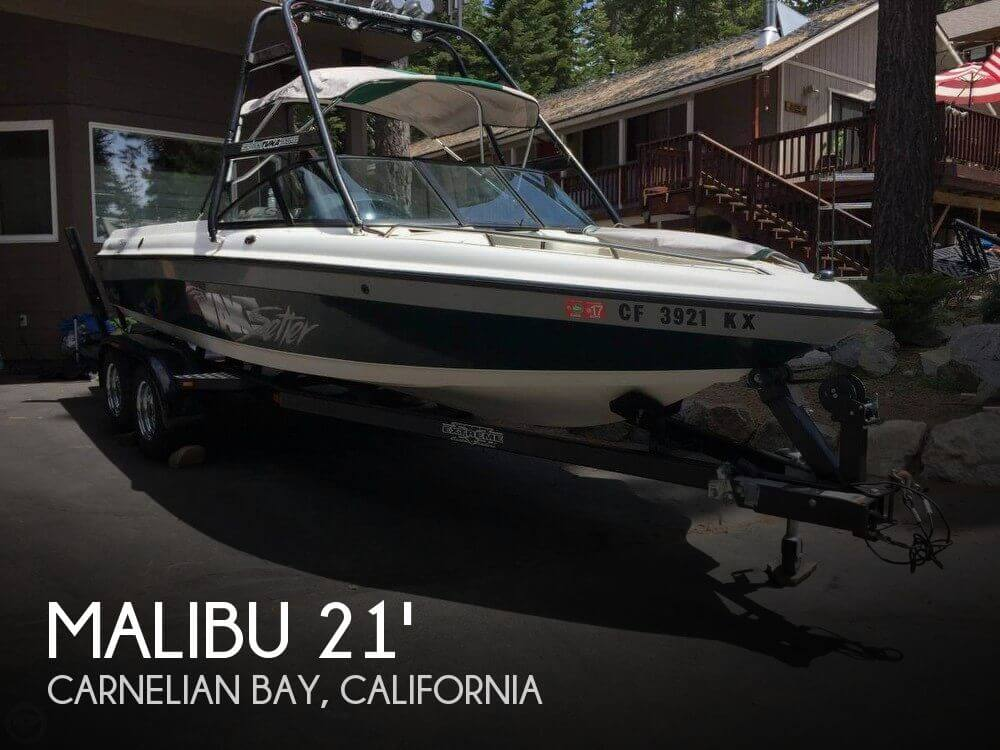 Used Boats For Sale in Reno, Nevada by owner | 2001 Malibu 21