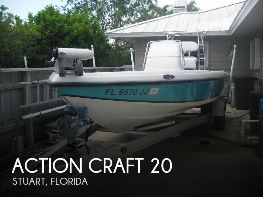Used Action Craft Boats For Sale by owner | 1996 Action Craft 20