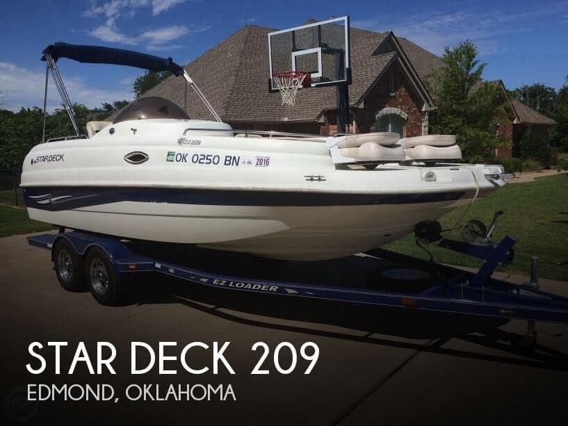 Used Deck Boats For Sale by owner | 2002 Star Deck 21