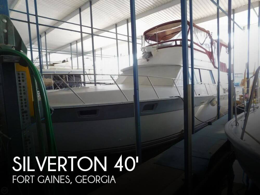 Used Boats For Sale in Dothan, Alabama by owner | 1986 Silverton 40