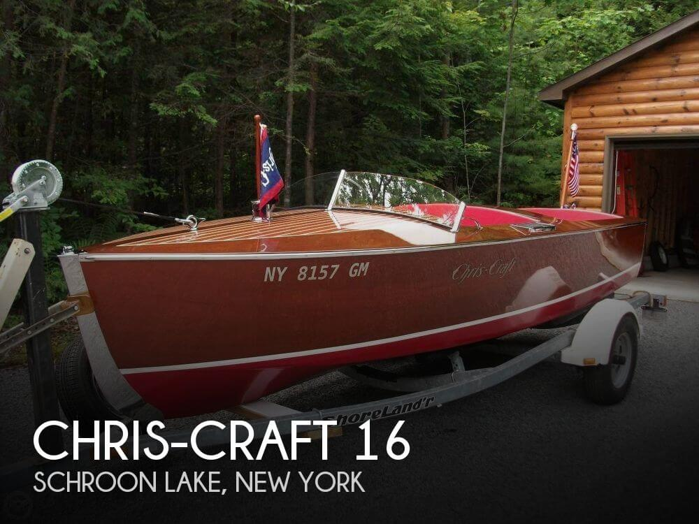 Used Boats For Sale in Burlington, Vermont by owner | 1940 Chris-Craft 16
